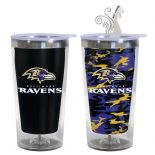 Baltimore Ravens 16oz Travel Mug with Hot & Cold Colour Changing Graphics